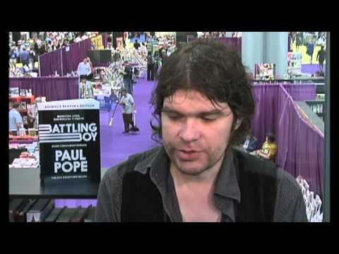 Paul Pope Publishers Weekly Interview