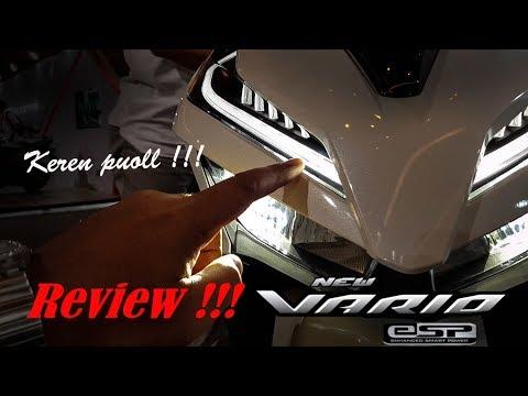 Review Honda New Vario 125/150 versi 2018 | Keren puol !!