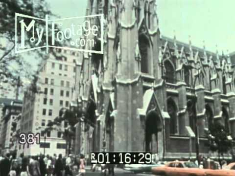 1970s New York, The Dynamic City - Promotional Film Stock Footage in HD