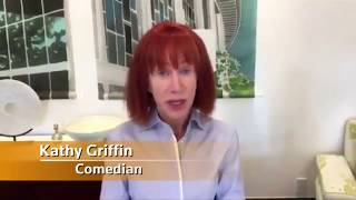Kathy Griffin is sorry for her video depicting a Trump severed head