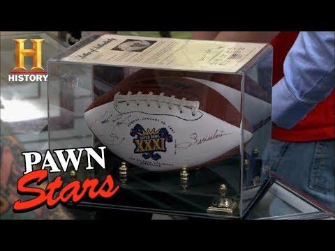 Pawn Stars: Sunday Funday Football Pawns  History