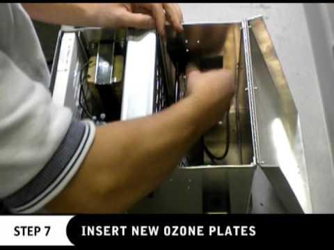 service ozone plates