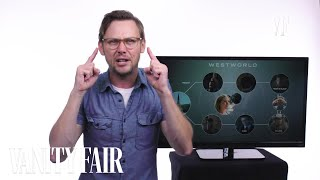 "Jimmi Simpson, who plays William on HBO's ""Westworld,"" recaps the first season in six minutes. Still haven't subscribed to Vanity Fair on YouTube?"