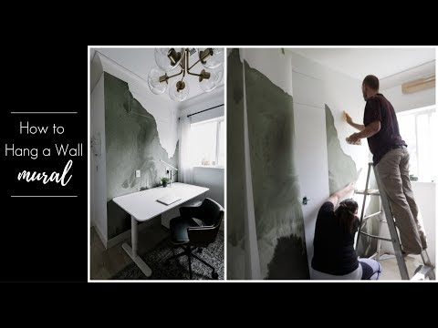 How To Hang A Wall Mural [In Less Than 2 Hours!]