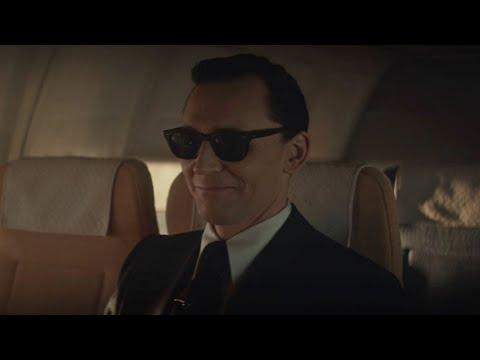 Loki as DB Cooper - scene | Loki | 1x01 | Disney+