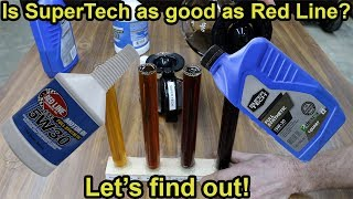 Is SuperTech Synthetic Oil as good as Red Line Let&#39s find out!