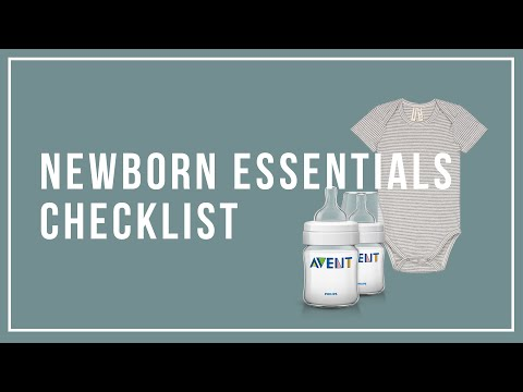 Newborn Essentials Must-Haves Checklist 2019 Mp3