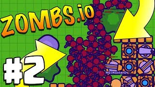 THIS BASE IS SO STRONG | Zombs.io | Slither.io / Agar.io | Zombs.io Part 2