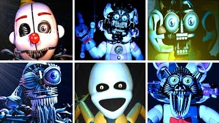 Five Nights at Freddy s: Sister Location ALL JUMPSCARES