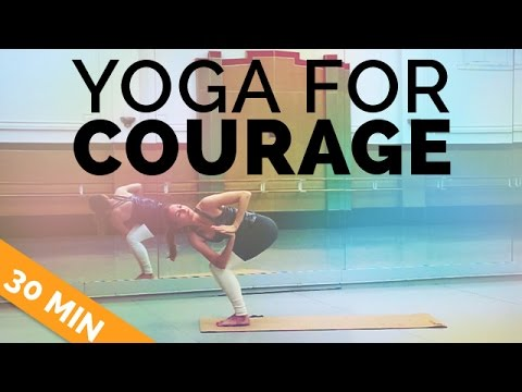 Yoga for Energy & Courage: Power Yoga Sequence, 30-Min Yoga Class