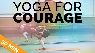 Yoga for Energy & Courage: Power Yoga Sequence, 30-Min Yoga Class