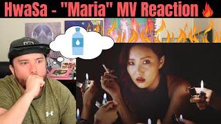 화사 (Hwa Sa) - 마리아 (Maria) MV Reaction! (Half Korean Reacts)