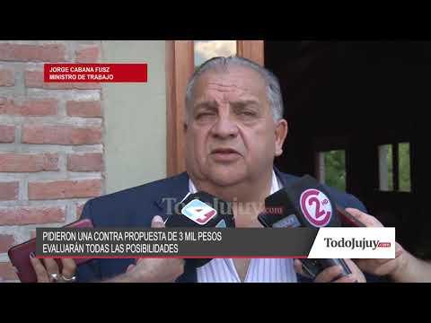 Mirá lo que dijo el ministro de Trabajo, Jorge Cabana Fusz