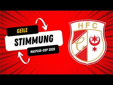 HFC-Fankurve Beim Halplus-Cup 2020
