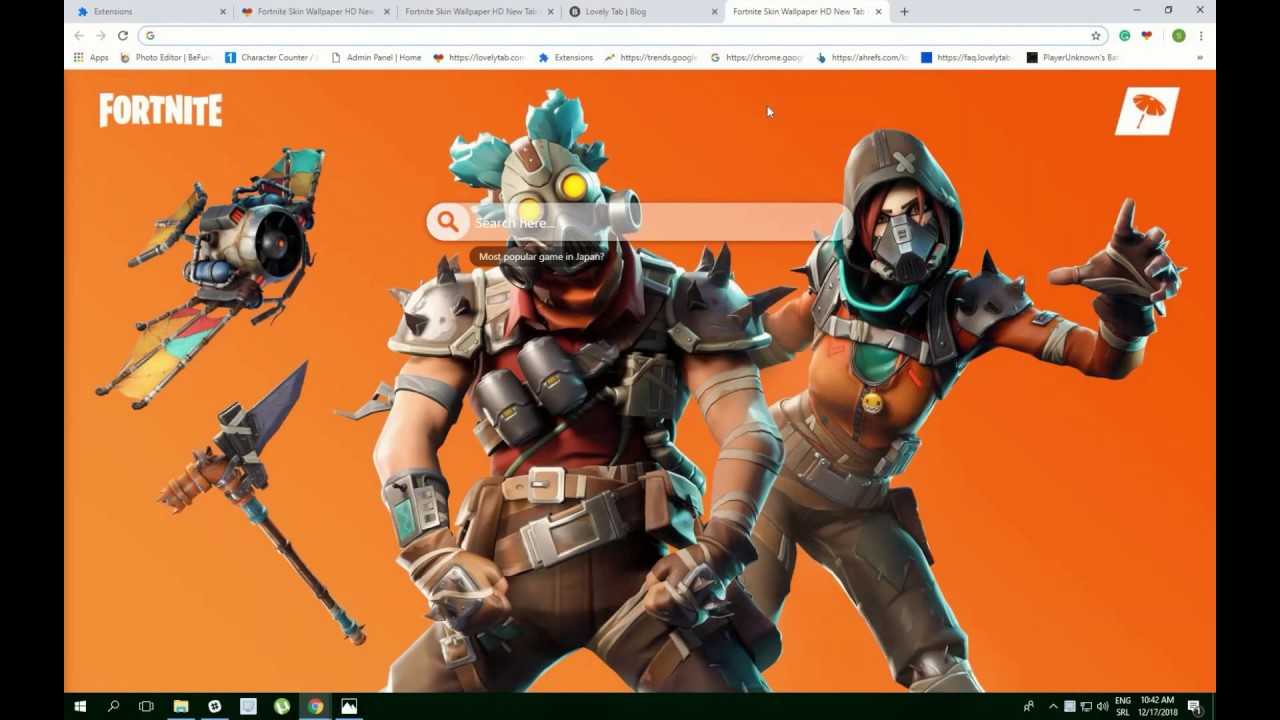New Forntite Skins Wallpaper Fever   A Must Have! Lovely Tab