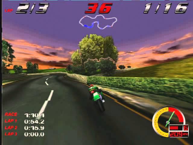 glide 3dfx Redline Racer