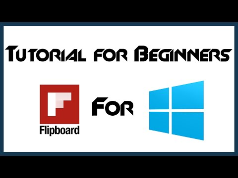 How to Use Flipboard App | Windows 10 | Beginner