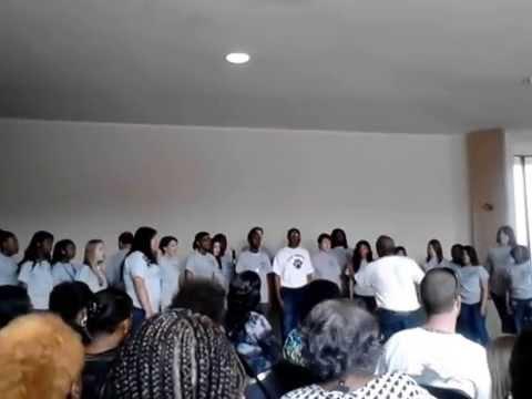 Edisto high school choir