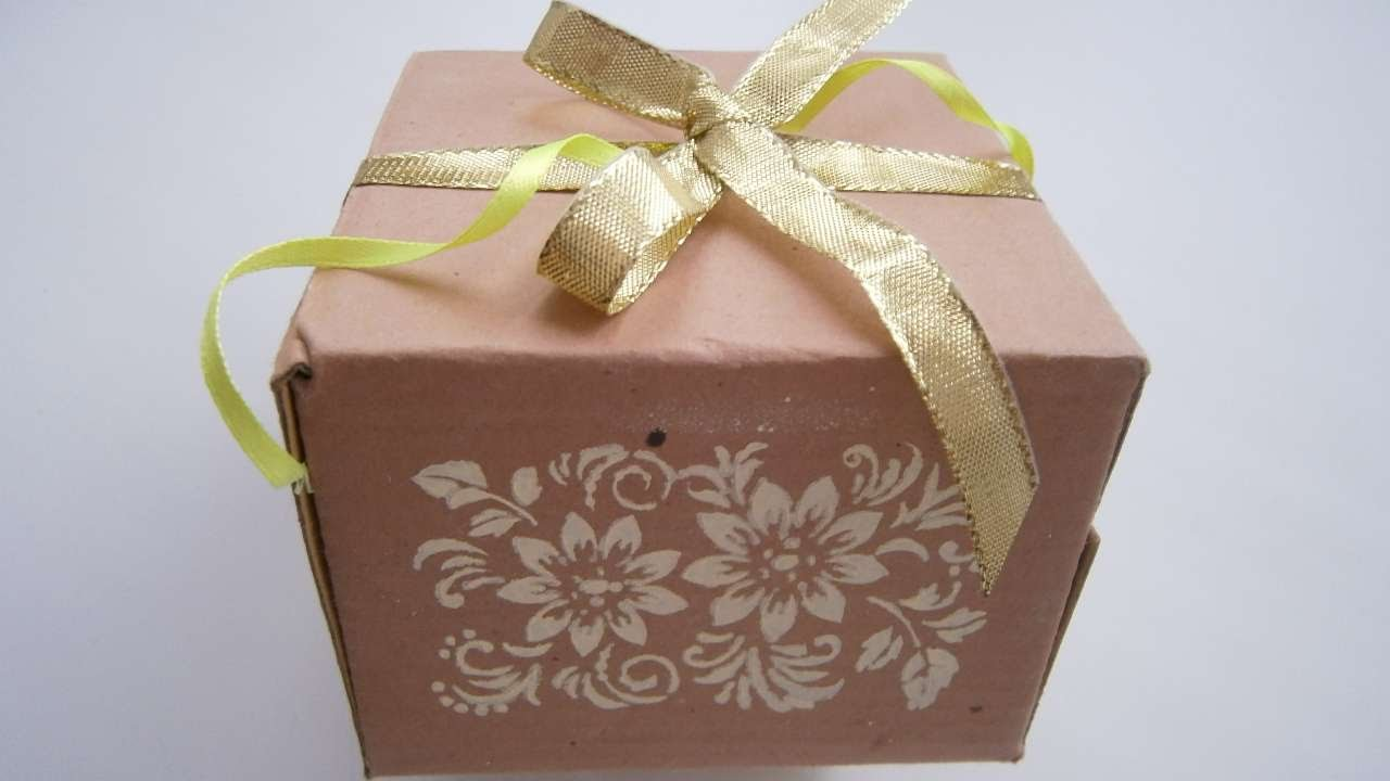 How To Make A Beautiful Gift Box - DIY Crafts Tutorial ...