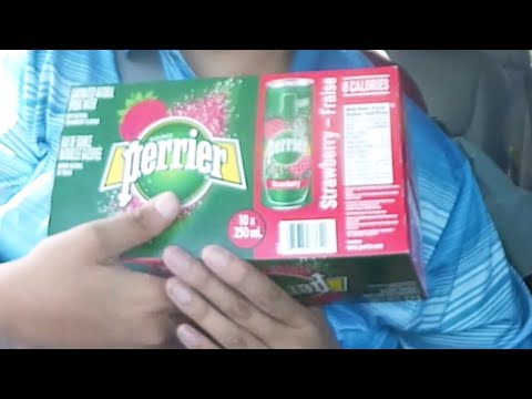 New Perrier Strawberry Water Taste-test