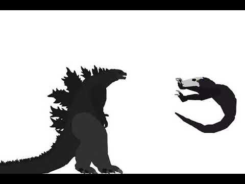 Godzilla Vs Skull Crawler