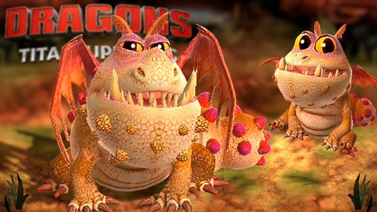 Dragons Titan Uprising - Gronckle, tufãomerangue, Pesadelo Monstruoso - Escola de dragões #01