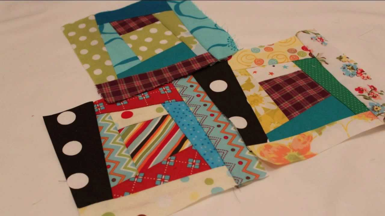 Paper pieced quilt block basics whitney sews youtube for How to make a quilt template