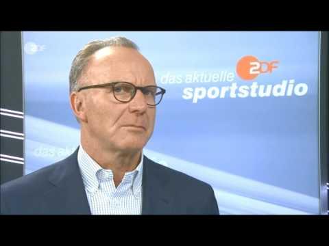 ZDF das aktuelle sportstudio ►Karl-Heinz Rummenigge im Interview◄