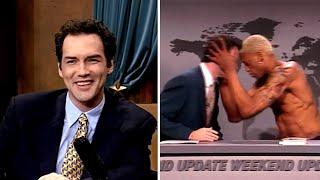 Norm Macdonald Got Headbutted By Dennis Rodman | Late Night with Conan O'Brien