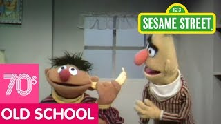 Sesame Street: Ernie Has a Banana in His Ear | #ThrowbackThursday