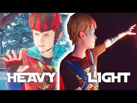 THE AWESOME ADVENTURES OF CAPTAIN SPIRIT Gameplay Walkthrough Light Armor - Heavy Armor