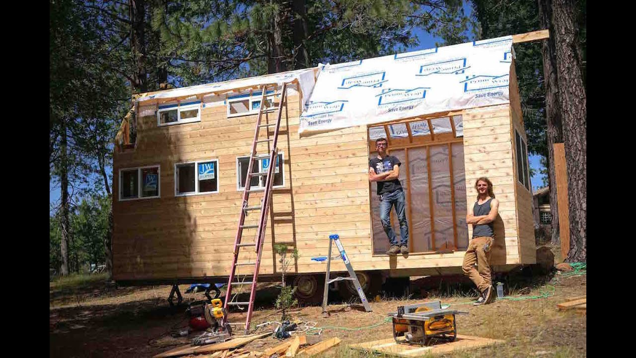 Building Your First Tiny House Youtube