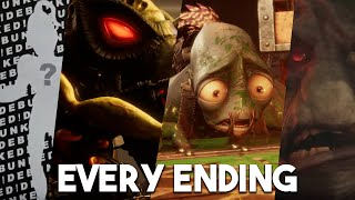 ODDWORLD SOULSTORM EVERY ENDING - Worst / Bad / True Best / Secret