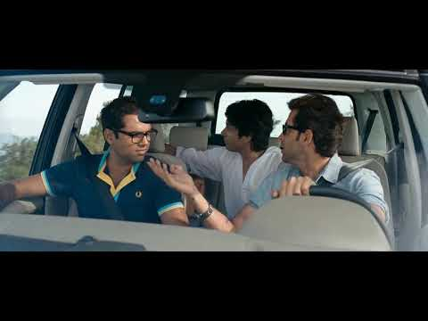 #ZNMD : Fighting Scene Hrithik, Farhan, Abhay