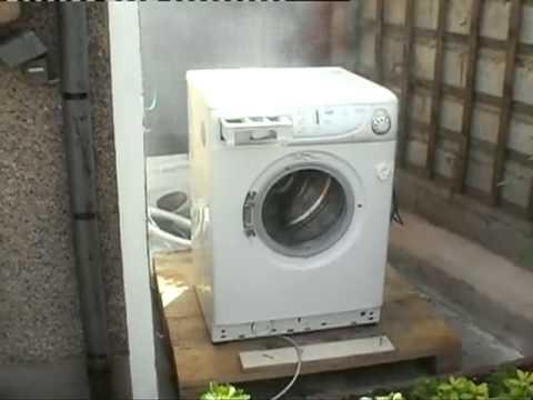 une brique dans une machine à laver - youtube