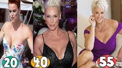 Brigitte Nielsen ♕ Transformation From 20 To 55 Years OLD