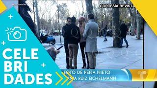 ¡Volvieron a captar a Enrique Peña Nieto con una modelo! | Un Nuevo Día | Telemundo