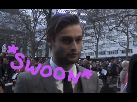 Douglas Booth talks being married to Emma Watson at the Noah premiere - WATCH