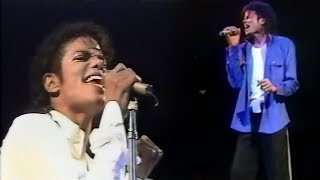 Michael Jackson - Man In The Mirror - Bad Tour Megamix (1988-1989)