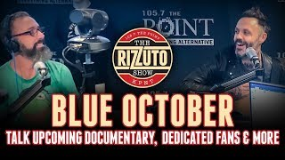 BLUE OCTOBER talks upcoming documentary, dedicated fans & more [Rizzuto Show]