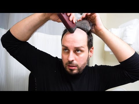 HAIRMERGENCY  How to re adhere a hair piece