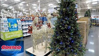 COSTCO CHRISTMAS 2018 (SO FAR) - CHRISTMAS TREES DECORATIONS ORNAMENTS HOME DECOR SHOPPING