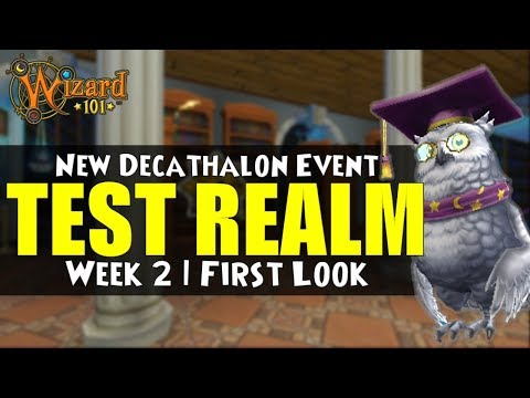 Repeat Wizard101 Live Test Realm US: Deckathalon by Angel Eisbrise