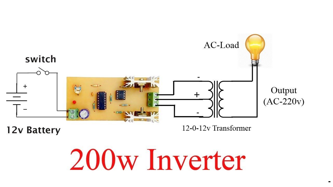200 w inverter circuit diagram wiring diagrams konsult 200 w inverter circuit diagram [ 1280 x 720 Pixel ]