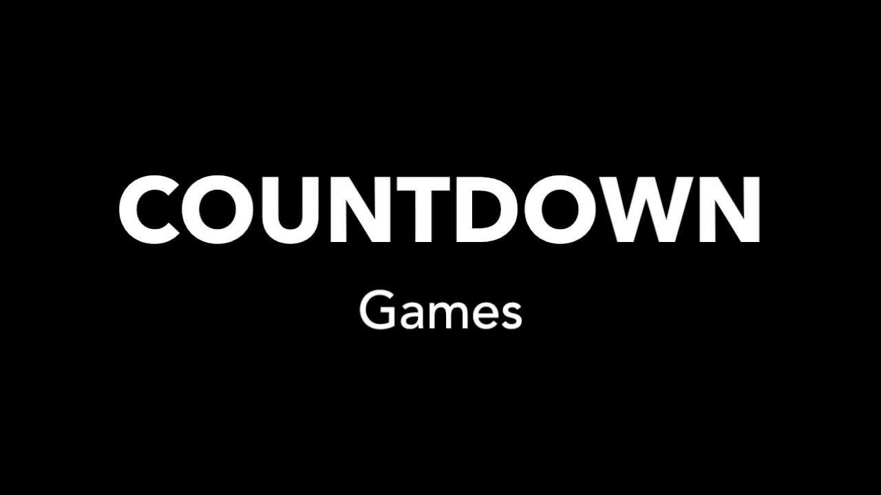 Countdown Best Escape