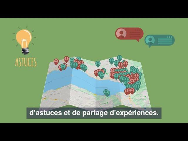 Vidéo d'animation - Présentation site La Fourmilière