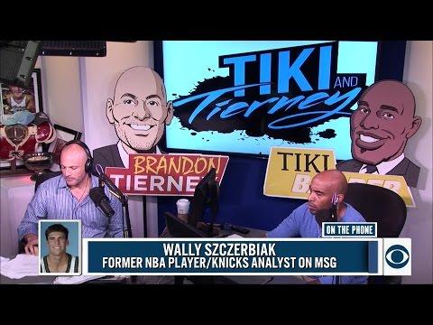 Former NBA Player Wally Szczerbiak joins The Tiki and Tierney Show