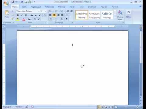 Apa Formatting Microsoft Word Mp  Youtube