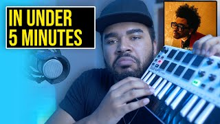 """How The Weeknd's """"Blinding Lights"""" Was Made In 5 Minutes"""