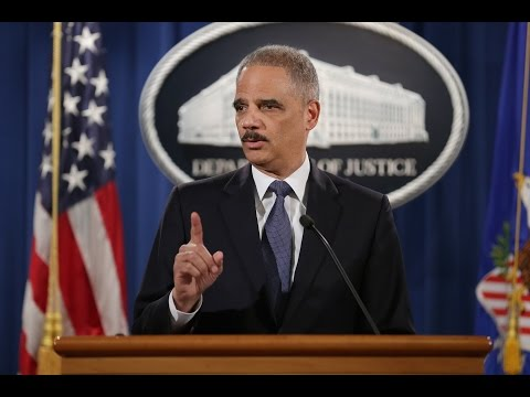 Watch Attorney General Eric Holder discuss DOJ Ferguson inve